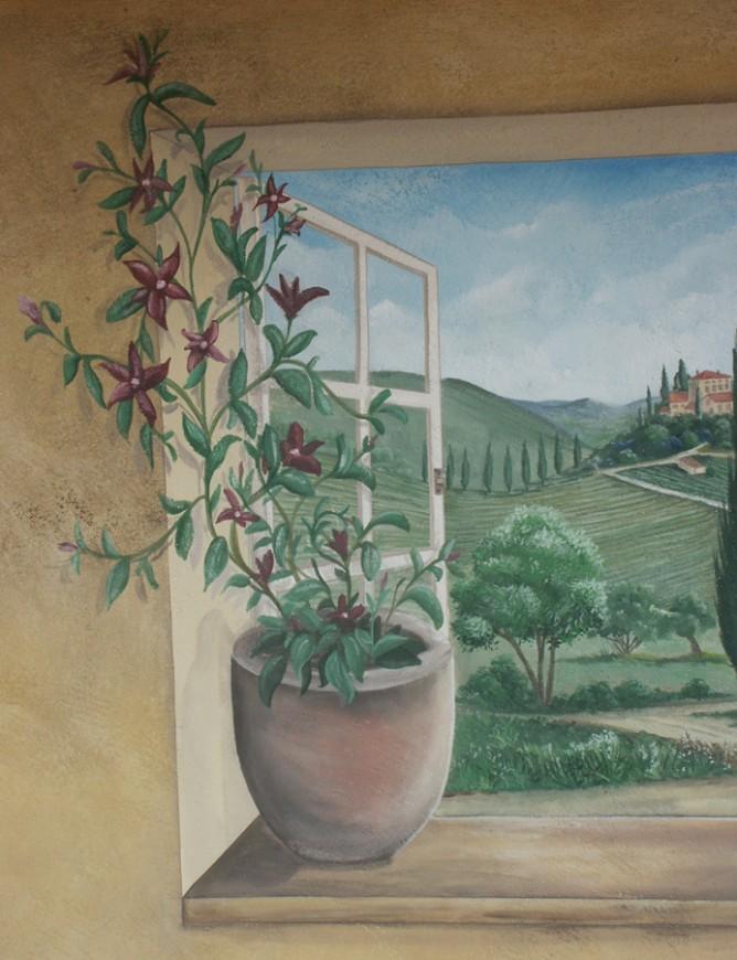 Toscaanse Doorkijk Paul Dekkers Creaties