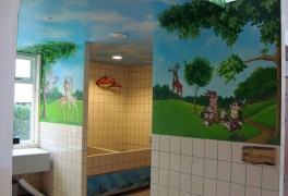 Disney sanitaire ruimte